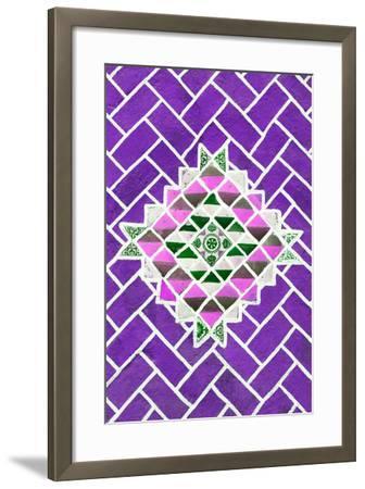 ?Viva Mexico! Collection - Purple Mosaics-Philippe Hugonnard-Framed Photographic Print