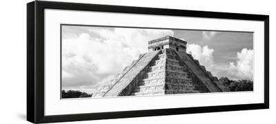 ¡Viva Mexico! Panoramic Collection - El Castillo Pyramid in Chichen Itza III-Philippe Hugonnard-Framed Photographic Print