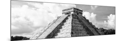 ¡Viva Mexico! Panoramic Collection - El Castillo Pyramid in Chichen Itza III-Philippe Hugonnard-Mounted Photographic Print