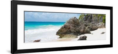 ?Viva Mexico! Panoramic Collection - Caribbean Coastline - Tulum IV-Philippe Hugonnard-Framed Photographic Print