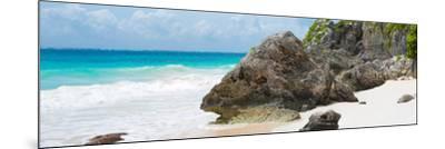 ?Viva Mexico! Panoramic Collection - Caribbean Coastline - Tulum IV-Philippe Hugonnard-Mounted Photographic Print