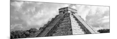 ¡Viva Mexico! Panoramic Collection - El Castillo Pyramid - Chichen Itza II-Philippe Hugonnard-Mounted Photographic Print