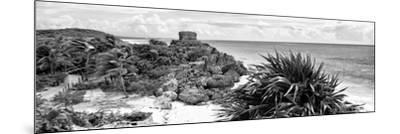 ¡Viva Mexico! Panoramic Collection - Caribbean Coastline in Tulum VII-Philippe Hugonnard-Mounted Photographic Print