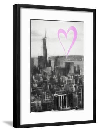 Luv Collection - New York City - Downtown Manhattan-Philippe Hugonnard-Framed Giclee Print