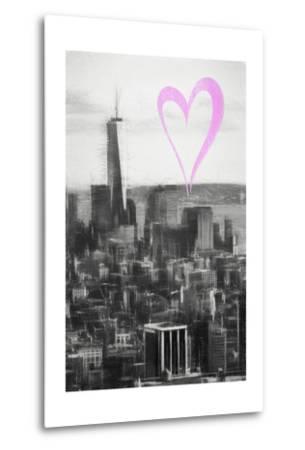 Luv Collection - New York City - Downtown Manhattan-Philippe Hugonnard-Metal Print