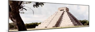 ¡Viva Mexico! Panoramic Collection - El Castillo Pyramid - Chichen Itza XII-Philippe Hugonnard-Mounted Photographic Print
