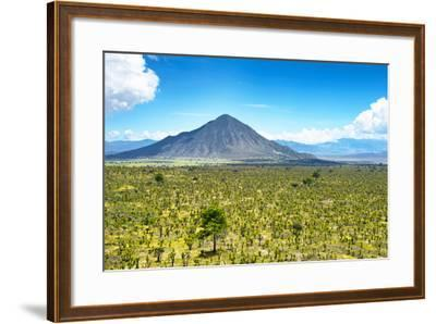?Viva Mexico! Collection - Desert Landscape in Puebla-Philippe Hugonnard-Framed Photographic Print