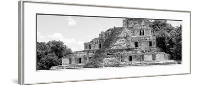 ¡Viva Mexico! Panoramic Collection - Maya Archaeological Site - Campeche V-Philippe Hugonnard-Framed Photographic Print