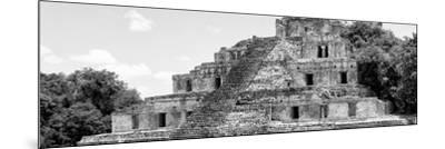 ¡Viva Mexico! Panoramic Collection - Maya Archaeological Site - Campeche V-Philippe Hugonnard-Mounted Photographic Print