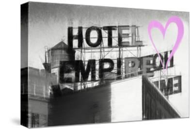 Luv Collection - New York City - Hotel Empire II-Philippe Hugonnard-Stretched Canvas Print