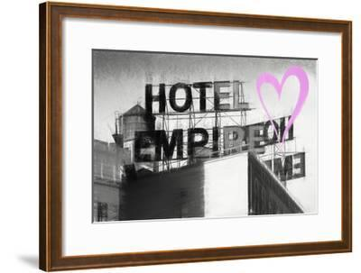 Luv Collection - New York City - Hotel Empire II-Philippe Hugonnard-Framed Giclee Print