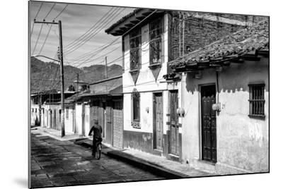 ?Viva Mexico! B&W Collection - Street Scene San Cristobal de Las Casas II-Philippe Hugonnard-Mounted Photographic Print