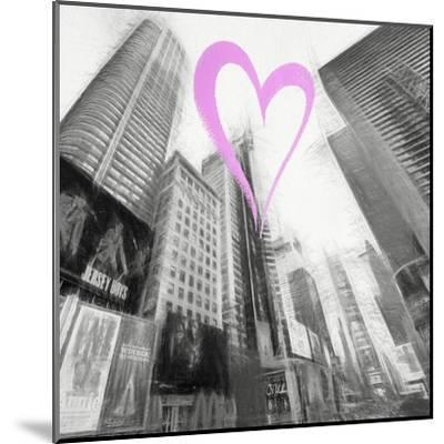 Luv Collection - New York City - Times Square III-Philippe Hugonnard-Mounted Giclee Print