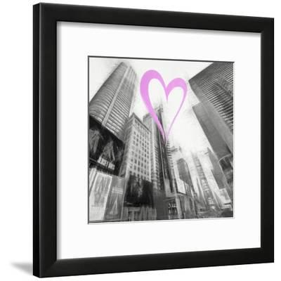 Luv Collection - New York City - Times Square III-Philippe Hugonnard-Framed Giclee Print