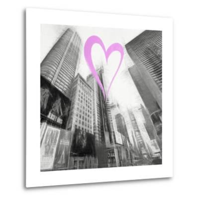 Luv Collection - New York City - Times Square III-Philippe Hugonnard-Metal Print