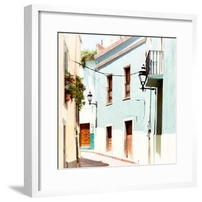 ?Viva Mexico! Square Collection - Street Scene - Guanajuato IV-Philippe Hugonnard-Framed Photographic Print