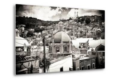 ¡Viva Mexico! B&W Collection - Guanajuato III-Philippe Hugonnard-Metal Print