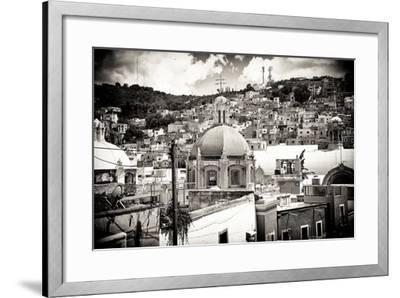 ¡Viva Mexico! B&W Collection - Guanajuato III-Philippe Hugonnard-Framed Photographic Print