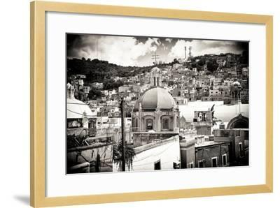 ?Viva Mexico! B&W Collection - Guanajuato III-Philippe Hugonnard-Framed Photographic Print