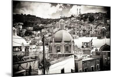?Viva Mexico! B&W Collection - Guanajuato III-Philippe Hugonnard-Mounted Photographic Print