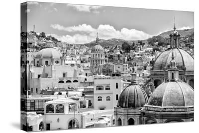 ?Viva Mexico! B&W Collection - Guanajuato II-Philippe Hugonnard-Stretched Canvas Print