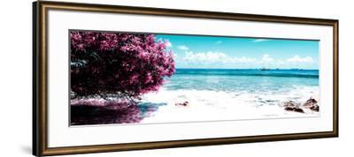 ¡Viva Mexico! Panoramic Collection - Caribbean Coastline II-Philippe Hugonnard-Framed Photographic Print