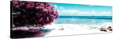 ¡Viva Mexico! Panoramic Collection - Caribbean Coastline II-Philippe Hugonnard-Stretched Canvas Print