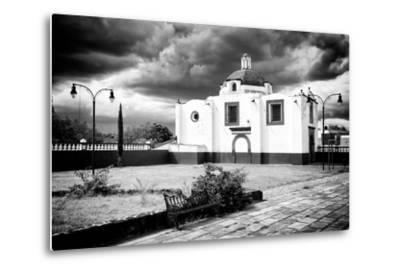 ?Viva Mexico! B&W Collection - Traditional Mexican Church II-Philippe Hugonnard-Metal Print