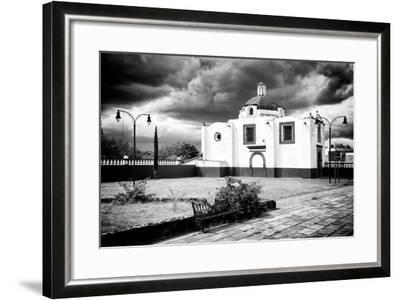 ?Viva Mexico! B&W Collection - Traditional Mexican Church II-Philippe Hugonnard-Framed Photographic Print