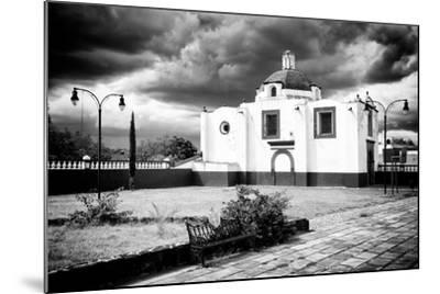 ?Viva Mexico! B&W Collection - Traditional Mexican Church II-Philippe Hugonnard-Mounted Photographic Print