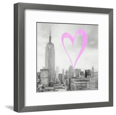 Luv Collection - New York City - The Cityscape II-Philippe Hugonnard-Framed Giclee Print