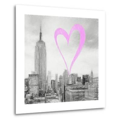 Luv Collection - New York City - The Cityscape II-Philippe Hugonnard-Metal Print