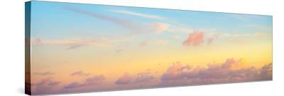 ¡Viva Mexico! Panoramic Collection - Sky at Sunset II-Philippe Hugonnard-Stretched Canvas Print