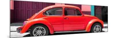 ¡Viva Mexico! Panoramic Collection - The Red Beetle Car-Philippe Hugonnard-Mounted Photographic Print