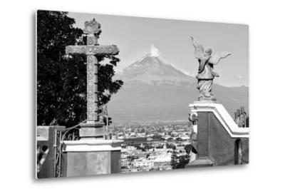 ?Viva Mexico! Collection - Popocatepetl Volcano in Puebla V-Philippe Hugonnard-Metal Print