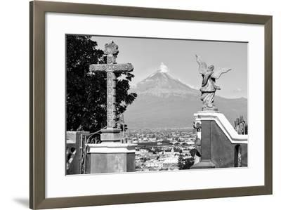 ?Viva Mexico! Collection - Popocatepetl Volcano in Puebla V-Philippe Hugonnard-Framed Photographic Print