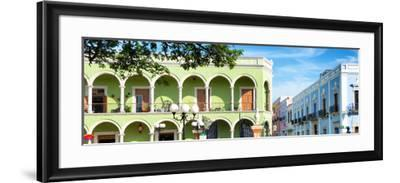 ¡Viva Mexico! Panoramic Collection - Campeche Architecture VI-Philippe Hugonnard-Framed Photographic Print