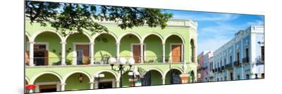 ¡Viva Mexico! Panoramic Collection - Campeche Architecture VI-Philippe Hugonnard-Mounted Photographic Print
