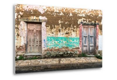 ?Viva Mexico! Collection - Double Doors-Philippe Hugonnard-Metal Print