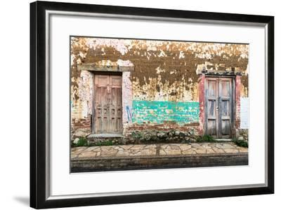 ?Viva Mexico! Collection - Double Doors-Philippe Hugonnard-Framed Photographic Print