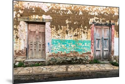 ?Viva Mexico! Collection - Double Doors-Philippe Hugonnard-Mounted Photographic Print