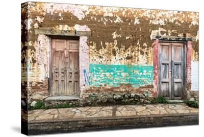 ?Viva Mexico! Collection - Double Doors-Philippe Hugonnard-Stretched Canvas Print