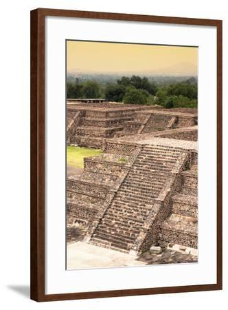 ¡Viva Mexico! Collection - Teotihuacan Pyramids-Philippe Hugonnard-Framed Photographic Print