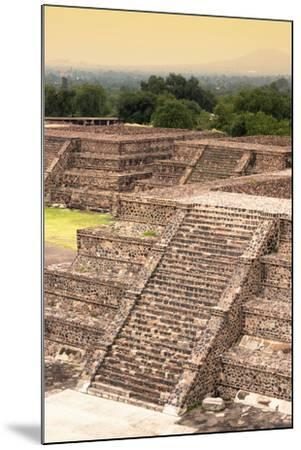 ¡Viva Mexico! Collection - Teotihuacan Pyramids-Philippe Hugonnard-Mounted Photographic Print