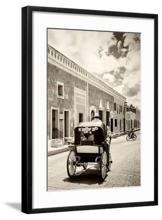?Viva Mexico! B&W Collection - Izamal the Yellow City III-Philippe Hugonnard-Framed Photographic Print