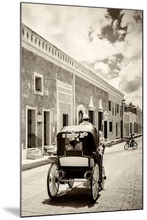 ?Viva Mexico! B&W Collection - Izamal the Yellow City III-Philippe Hugonnard-Mounted Photographic Print