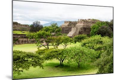¡Viva Mexico! Collection - Pyramid of Monte Alban-Philippe Hugonnard-Mounted Photographic Print