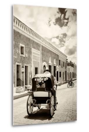 ?Viva Mexico! B&W Collection - Izamal the Yellow City III-Philippe Hugonnard-Metal Print
