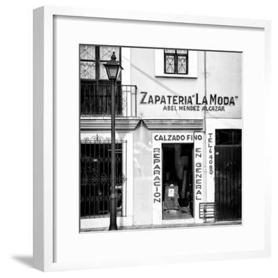 ¡Viva Mexico! Square Collection - Zapateria La Moda II-Philippe Hugonnard-Framed Photographic Print
