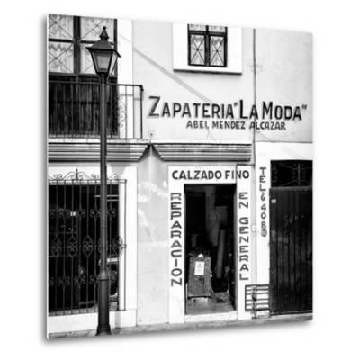 ¡Viva Mexico! Square Collection - Zapateria La Moda II-Philippe Hugonnard-Metal Print